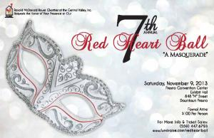 Red Heart Ball -