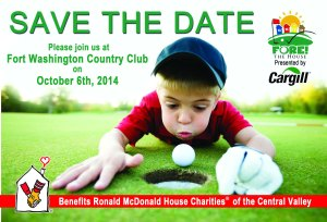 Save The Date 2014 - Fore the House