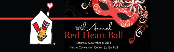 RMHC Red Heart Ball Fresno