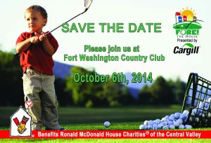 Fore The House RMHC Save the Date